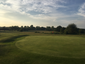 A view from the far side of the 18th hole at Chingford Golf Course