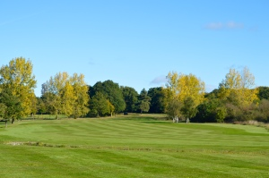 A photo of the green near the 7th hole at Chingford Golf Course